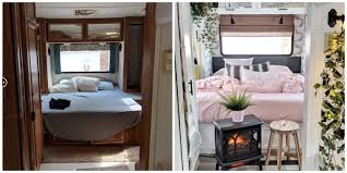 what type of paint to use on rv cabinets this 1994 rv cer got an insanely chic makeover for just