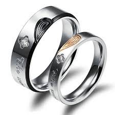 his and hers engagement rings aliexpress buy his true rings heart