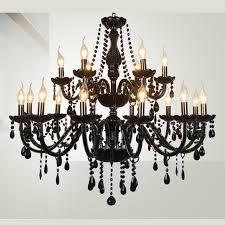 Showcase Lighting Fixtures Shop Showcase Hallway Black Chandelier Led Chrome Candle