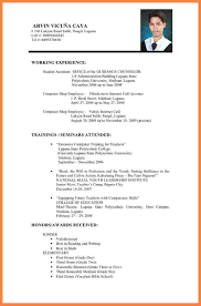 bunch ideas of sample resume for abroad application with free
