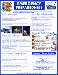 emergency preparedness info from a company prepardness u0026 self