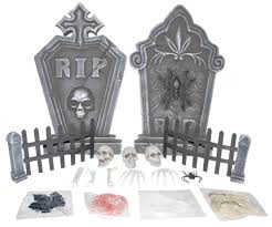 tombstone halloween decorations blog haunted house tips