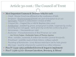 Council Of Trent Decree On The Eucharist An Age Of Renewal And Growth Ppt