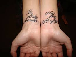 cute best friend tattoo ideas on wrist friends tattoos friend