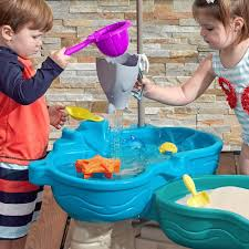 sand and water table costco step 2 spill splash water sand harbour activity table amazon co