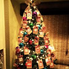 peanut christmas tree peanut butter and poptarts advent calendar christmas tree