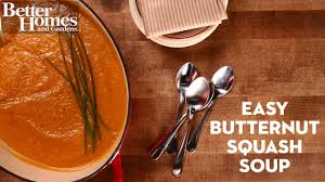 thanksgiving butternut squash soup easy butternut squash soup youtube