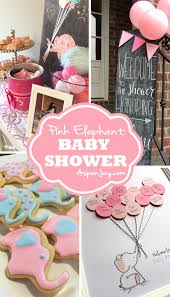 baby girl themes for baby shower pink elephant baby shower aspen
