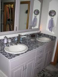 bathroom tile countertop ideas picturesque lovely mosaic tile countertop bathroom about interior