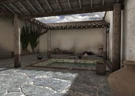 salle de bain style romain civilisations antiques grecques et romaines actualités et