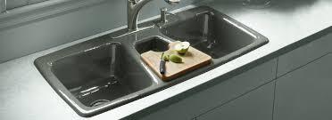 Deep Double Kitchen Sink by Stunning Kitchen Sink Basin Photos Home Design Ideas Ankavos Net