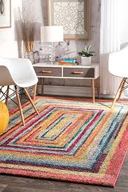 Xl Area Rugs Modern Area Rug Contemporary Colorful Geometric Xl Large Rugs 9x12