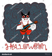 Halloween Cartoon Bat Hand Drawn Vector Stock Vector 487585666