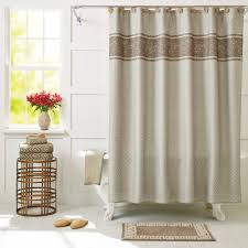 Brown And White Shower Curtains Bathroom Charming Blue Target Com Shower Curtains And Shower