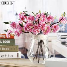 cherry blossom flowers artificial cherry blossom flower small single branch cherry