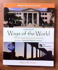 ways of the world 2nd edition volume 2 for western kentucky