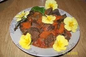 cuisiner coeur de boeuf recette de coeur de boeuf aux carottes la recette facile
