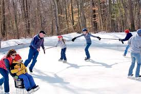 Build A Backyard Ice Rink Backyard Ice Rink Diy Home Projects