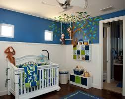 babyzimmer junge gestalten affenschaukel dschungel zimmer babyzimmer