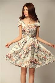 flower dress mermaid sleeve side shoulder shiffon silk flower dress