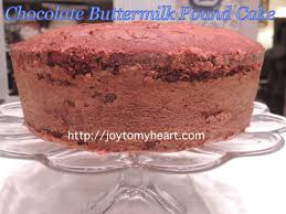 chocolate butermilk pound cake jpg