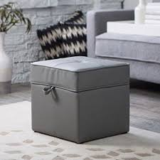 grey ottomans foter