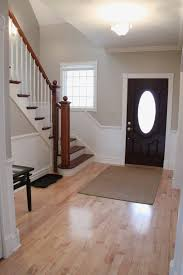 neutral beige paint colors updated foyer with accessible beige by sherwin williams bonnie donahue