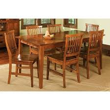 home styles arts u0026 crafts 7 piece dining set cottage oak