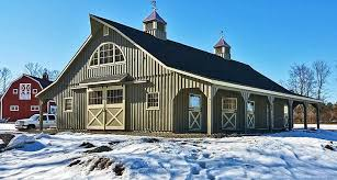Cupolas For Barns Prefab Horse Stalls Modular Barn Plans Horizon Structures
