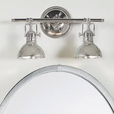 Chrome Bathroom Vanity Light Nautical 3 Light Bathroom Vanity Lighting Fixture Regarding Lights
