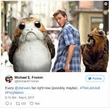 Memes De Star Wars - los mejores memes del nuevo personaje de star wars los últimos