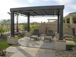 Gazebo With Awning Gazebos Shade Structures Valley Patios Palm Desert La