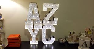 diy marquee letters explicit affairs
