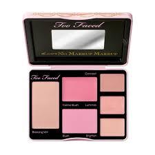 the secret to no makeup makeup palette too faced