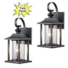 Exterior Light Fixtures Hardware House 23 0414 Black Outdoor Patio Porch Wall Mount
