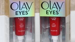 Olay Eye drugstore skincare products thoughts olay eye lifting serum