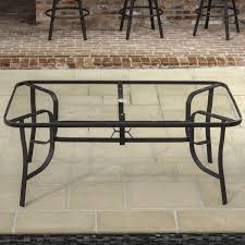 Glass Top Patio Table And Chairs Wicker Patio Dining Table With Glass Top Best Gallery Of Tables