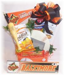 baseball gift basket baltimore maryland sports baseball gift basket with baltimore