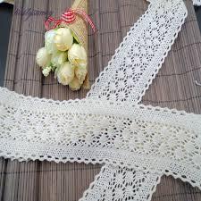 wide lace ribbon pf 1yard 6cm white cotton lace ribbon braid band wide lace and