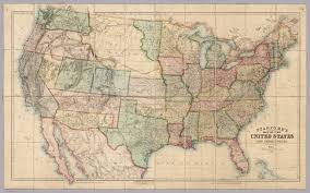 United States Territories Map by Map Of The United States And Territories David Rumsey