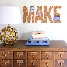 Home Decor Letters Diy Polka Dot Cork Letters