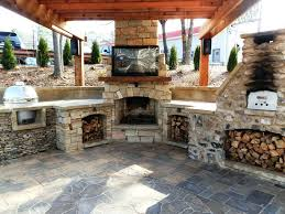 fireplace pizza oven kits outdoor combo plans fireplace pizza oven