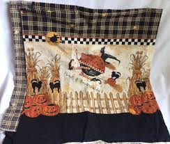 broomzelda border halloween tablecloth cotton fabric daisy kingdom