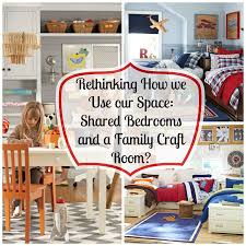 rethinking how we use our space a shared bedroom and a family