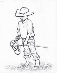 rodeo coloring pages free printables cowboys cowgirls