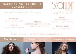 hairstyling classes cecilia fourie academy