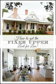 getting the fixer upper look for less easy sources for