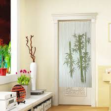 aliexpress com buy bamboo polyester door curtain tapestry room