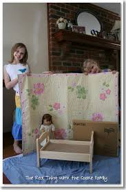 how to make american girl doll bed american girl doll craft make an adorable polka dot doll bed