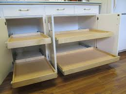 Kitchen Cabinet Slide Out Organizers Clever Design Sliding Drawers For Cabinets Potential Pull Out